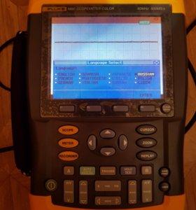 Осцилограф fluke 192c/001-m02 60MHz 500MS/s