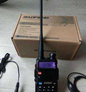 Рация Baofeng UV-5R Новая, В Наличии