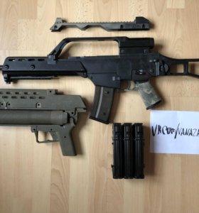G36K, подствольный гранатомёт AG36