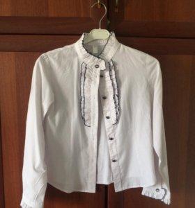 Школьная форма(белая рубашка)