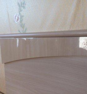Кровать двуспальная Шатура
