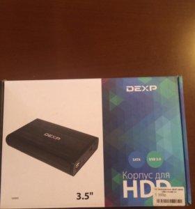 Внешний бокс Dexp UA003 USB3.0