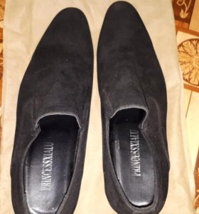 Туфли мужские.Замша
