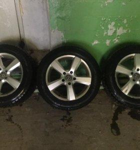 3 колеса зимние