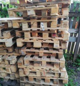 Поддоны деревянные бу