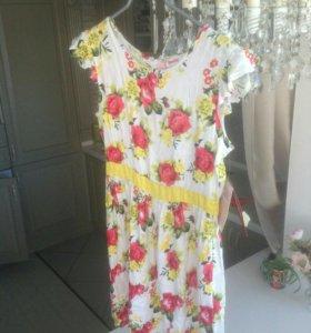 Платье летнее подростковое