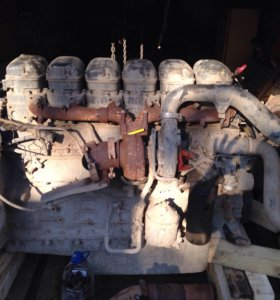 Двигатель скания DC 1217, в сборе с навесным