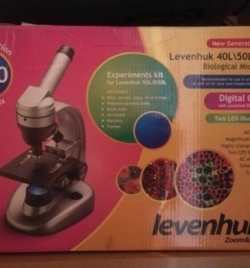 Микроскоп Levenhuk 50L