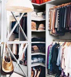 Разбираю гардероб одежды и обуви
