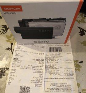 Продам Sony action cam HDR-AS50 с картой памяти