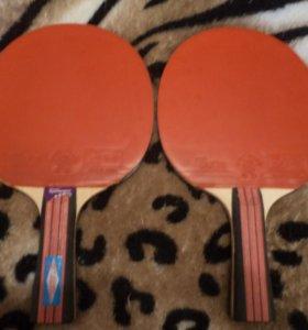 Продаю настольные теннисные ракетки