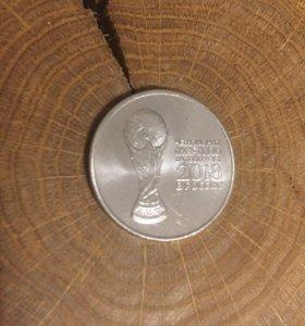 Монета Чемпионат Мира По Футболу FIFA 2018