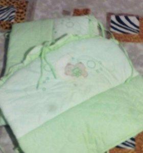 бортики+подушка и навалочка