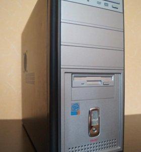 Системный блок на Intel Dual Core E5200