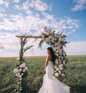Свадебное платье от Pronovias