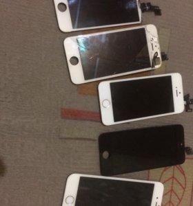 экрана iphone с заменой