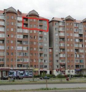 Квартира, 5 и более комнат, 173 м²