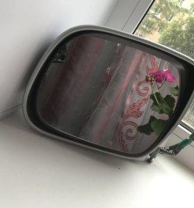 Зеркало на Toyota Harrier, Lexus левое.