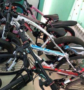 Велосипед горный 21скорость, диск тормоза