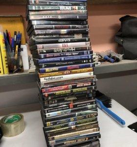 Продам двд диски с фильмами.