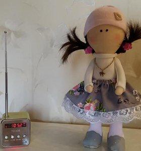 Текстильная кукла 25 см