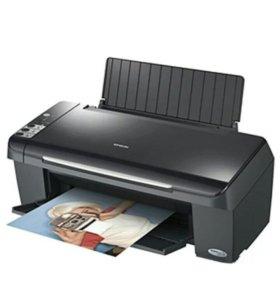 Принтер цветной эпсон небольшой торг