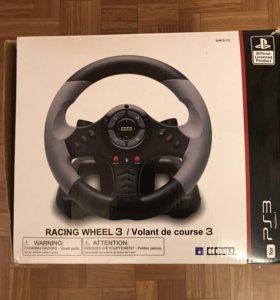 PlayStation 3+руль+игры