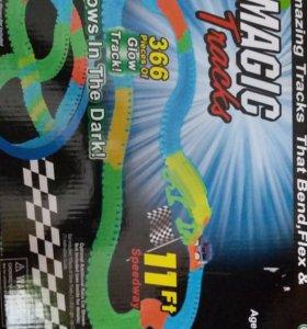 Гоночная трасса MAGIC TRACKS 366 деталей