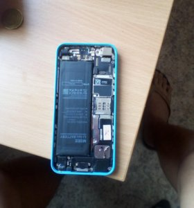 iPhone 5c на запчасти