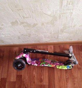 Новые самокаты скутер складной