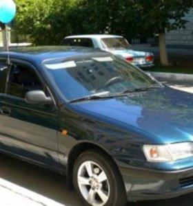 Разбираю Тойоту карину-Е,седан 4А-ФЕ,1995г