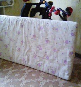 Матрас кокосовый в детскую кроватку 120х60