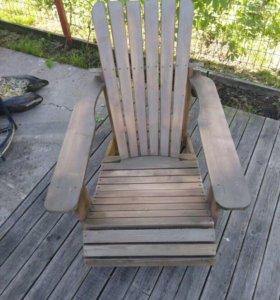 Кресло-шезлонг дачный