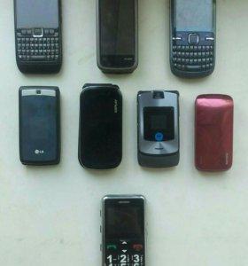 Рабочие телефоны