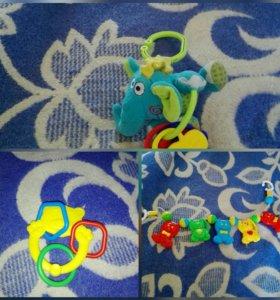 Пакет детских игрушек с 0+