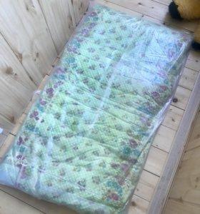 Матрасик в детскую кроватку бесплатно