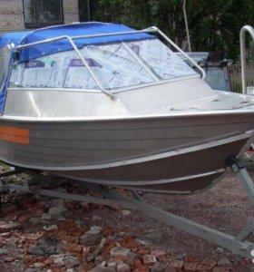 Катер с рубкой Вельбот (wellboat) 51p,без мотора