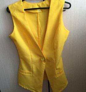 Жёлтый жилет новый