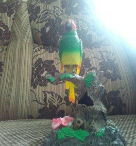Электронный говорящий попугай
