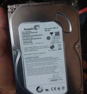 Жесткий диск для ПК 500 gb