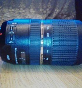 Tamron sp 70-300mm для Canon
