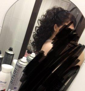 Волосы хвост накладной