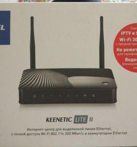 Wi-fi роутер ZyXEL KEENETIK LITE II