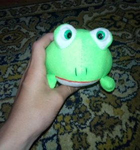 Mягая игрушка лягушка