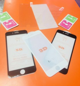 Защитные стекла/накладки iPhone