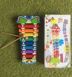 Ксилофон - муз.игрушка