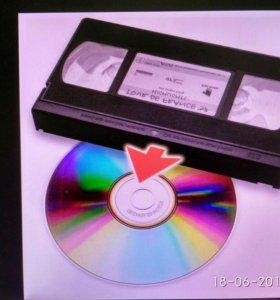Оцифровка видеокассет в г. Орле