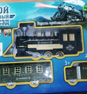 Поезд - замечательная игрушка для детей на батарей