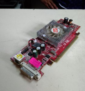 Ati Radeon X1550 256Mb (не раб. куллер) (10779)