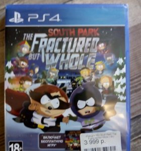 PS4. South Park: The Fractured But Whole